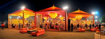 Photo of Orange Tents Decor