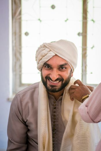 Groom Wearing Pagdi Shot