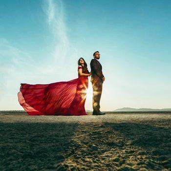 Outdoor pre-wedding shoot ideas