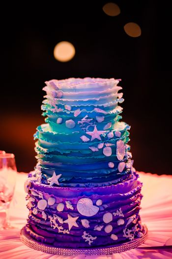 Unique wedding cake!