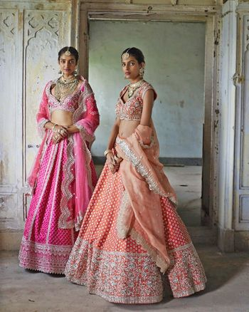 Orange Bridal Lehenga Photo bridal lehenga