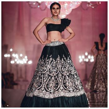 Black Outfits Photo black lehenga