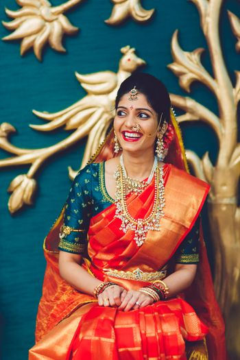 South Indian bride candid shot