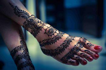 Bridal Feet Mehendi Design - Ladi Design