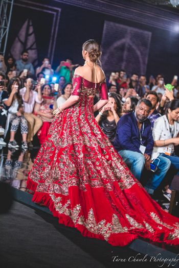 Photo of Manish Malhotra Bridal Lehenga worn by Deepika Padukone