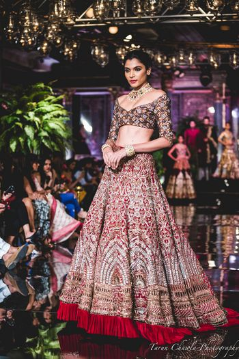 Photo of Bridal lehenga by Manish Malhotra