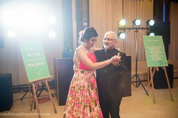 Father Daughter Dance at Sangeet