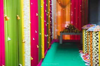 Colourful Decor with Small Hanging Bells
