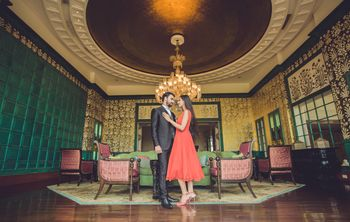 Romantic Estate Pre Wedding Shoot