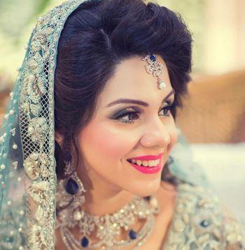 Soft and subtle bridal makeup