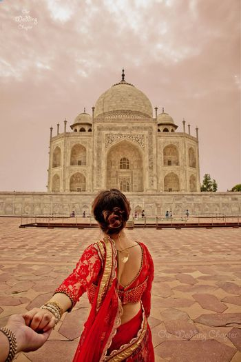 Photo of Follow Me Pre Wedding Shoot at Taj Mahal