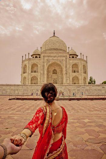 Photo of Follow Me Pre Wedding Shoot at Taj Mahal