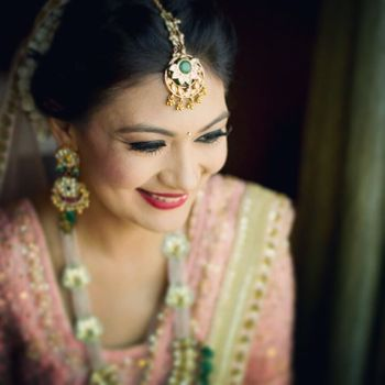 Photo of Indian bride with makeup