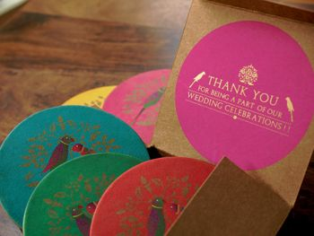 Photo of Thank you gifts as coasters
