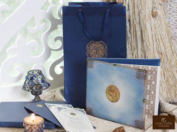Light Blue Wedding Invitations Photo