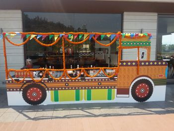 Photo of Genda Phool Truck Decor Food Display Idea