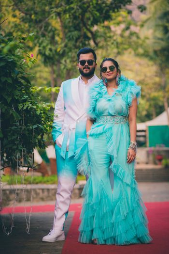 Pool Party Outfit Ideas for brides and grooms.