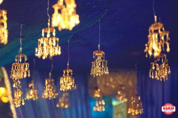 Hanging Kaleere used in Wedding Decor