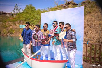 Nautical Theme Photobooth with Boat