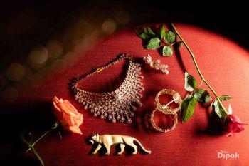 bridal jewellery photography on sabyasachi box