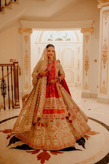 Bridal portrait on wedding day
