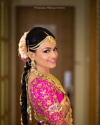 Photo of South Indian Bridal Makeup Look