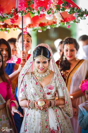 Bride entry shot