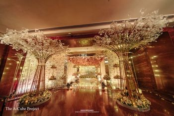 A grand entrance decor.