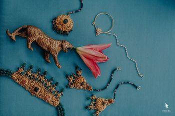 Bridal Jewellery shot.