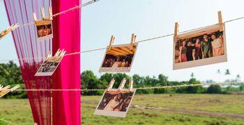 Photowall at weddings.