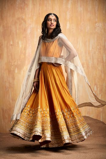 Photo of Mustard yellow anarkali