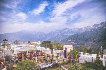 Hillside Wedding Venue Overlooking the Valley