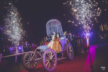 Bridal Entry on a Chariot