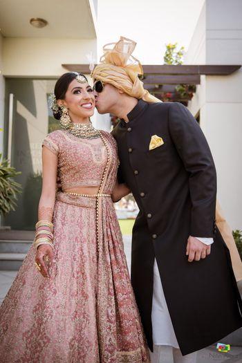 A cute couple shot
