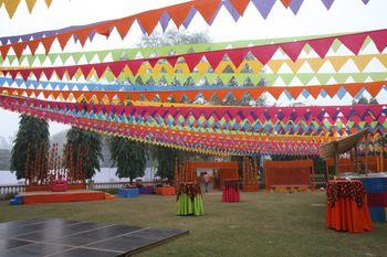 Photo of Village theme decor mehendi