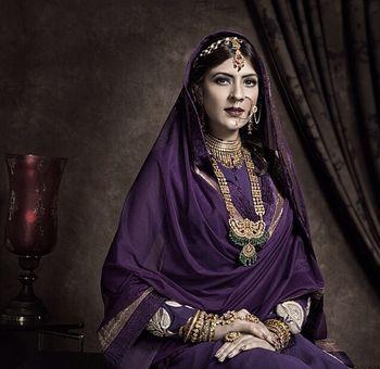 Royal Purple Bride