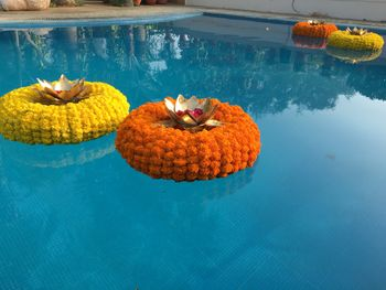 Pool decor for mehendi