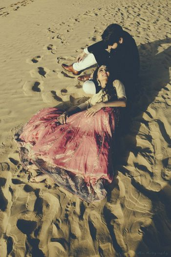 Pre Wedding Shoot in Desert