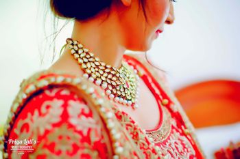 Kundan and Pearl Bridal Necklace