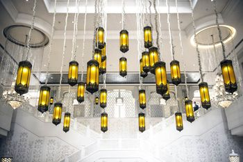 Hanging lights decor