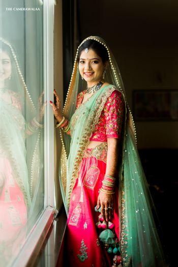 Summer bridal lehenga