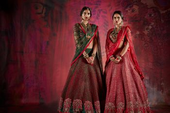 Photo of Bridal lehengas by Jade