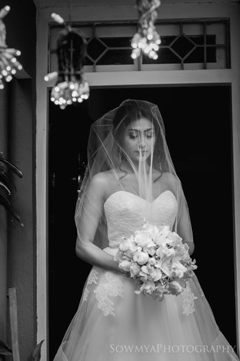 Photo of Gorgeous christian bride shot