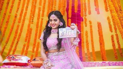 Shilpi - Mehendi Bride