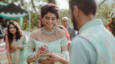 Akanksha engagement