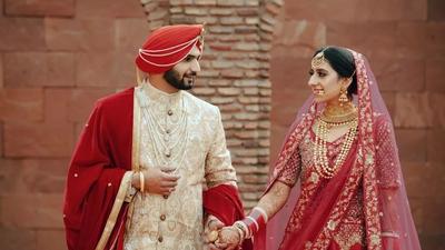 Simran and Manneet - Safarsaga Films - Wedding Photography Chandigarh