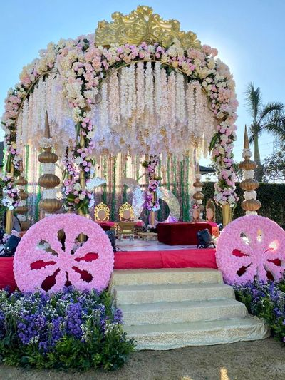 Photo of Floral mandap decor ideas