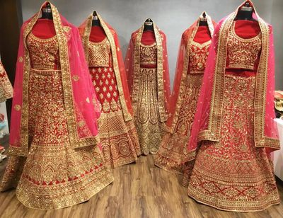 Top 40 Bridal Wear Stores In Surat Bridal Wear Shopping In Surat