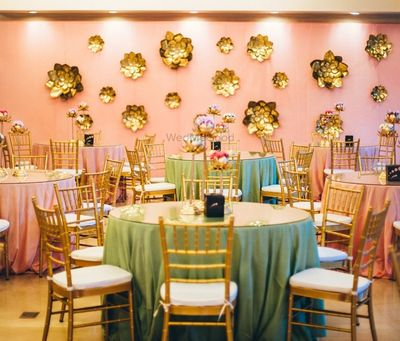 Photo of Pretty and elegant indoor decor with pastels
