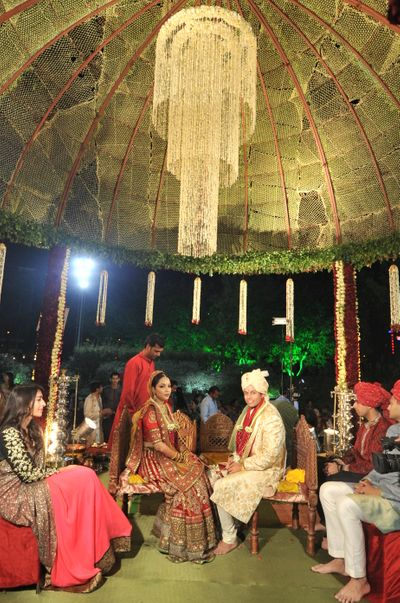 Photo of Wedding mandap decor